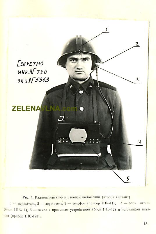radiostanice ČSLA zelená vlna Strela 2