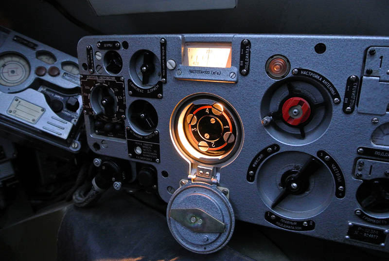 BRDM Zelená vlna radiostanice R123