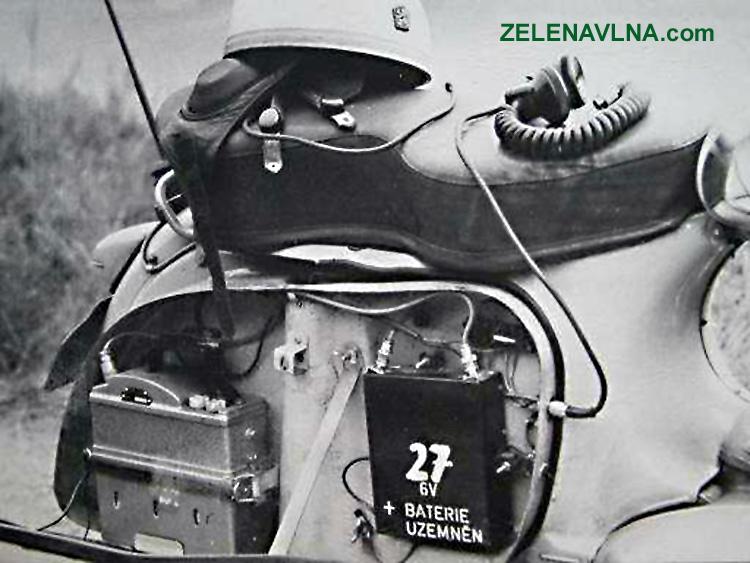 radiostanice VB Stb Jawa 350 Nanuk