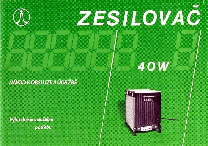 Zesilovač ZX31