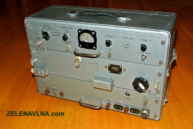radiotechnický průzkum ČSLA radiostanice
