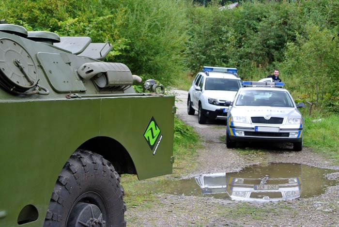 BRDM Zelená vlna Policie