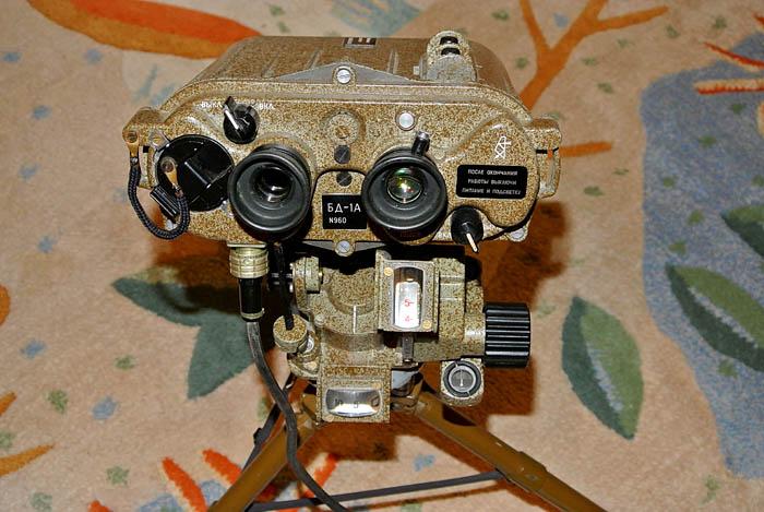 BD-1A laserový dálkoměr
